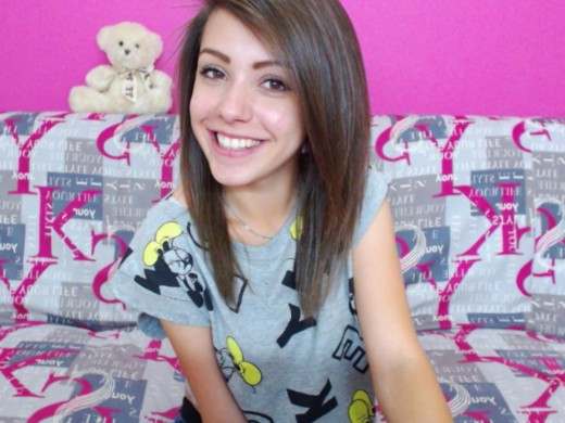 19yo Russian camgirl LittleMilly @ MyFreeCams